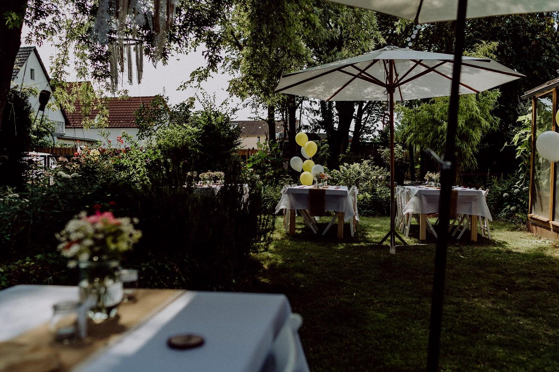 Gartenhochzeit in der Pfalz