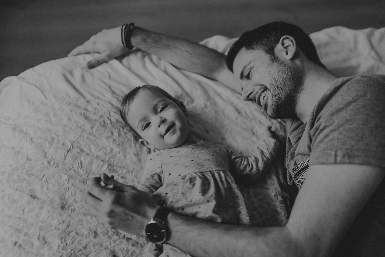 Vater und Tochter - Homestory Worms