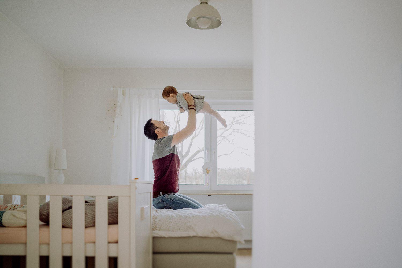 Familienbilder zu Hause machen
